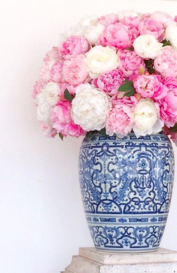 แต่งบ้านสวยด้วยดอกไม้