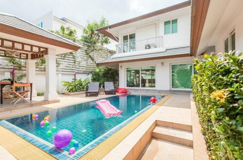 pool villa เมืองพัทยา