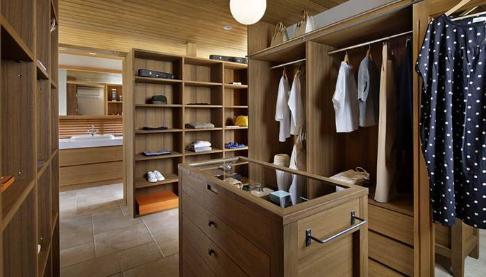 cozy dressing room