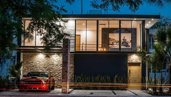 Modern loft style house. Beautiful and cool