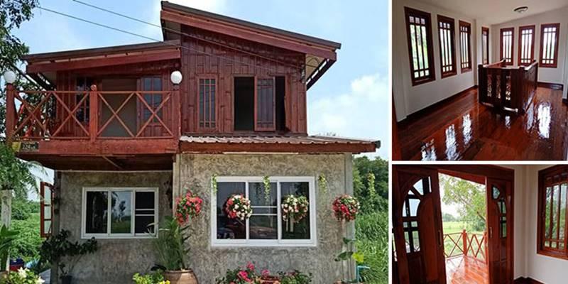 mixed house