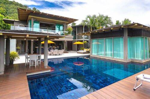 Layan sea view villa